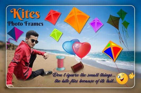 Kite Photo Editor Frame poster