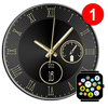 Free Analog Watch Face Theme for Bubble Clouds アイコン