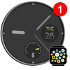 Free Minimal Watch Face Theme for Bubble Cloud-icoon