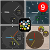 """""""Minimal"""" watch face pack 7 for Bubble Clouds icono"""