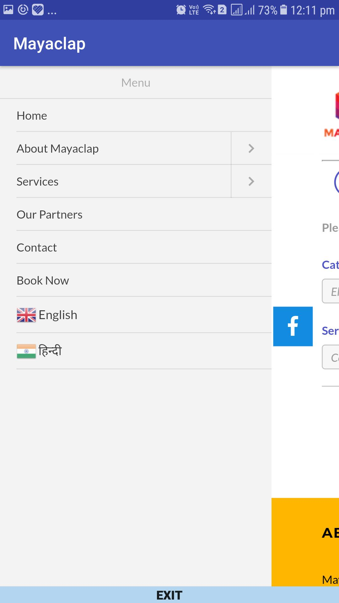Home Phone Service Providers >> Mayaclap Home Service Provider For Android Apk Download