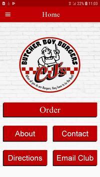 CJ's Butcher Boy Burgers screenshot 1