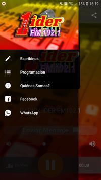 Radio Lider 102.1 screenshot 1