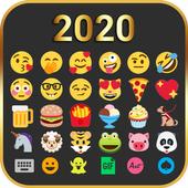 Emoji Keyboard Cute Emoticons - Theme, GIF, Emoji иконка