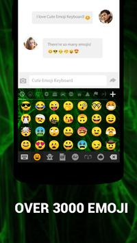 Emoji Keyboard Cute Emoticons - Theme, GIF, Emoji скриншот 1