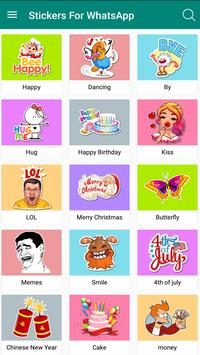 Chat Stickers -WAStickerApps Stickers screenshot 2