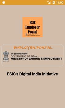ESIC Employer App poster