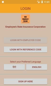 ESIC Employer App screenshot 2
