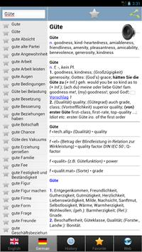 worterbuch german - Wörterbuch screenshot 15