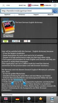 worterbuch german - Wörterbuch screenshot 10