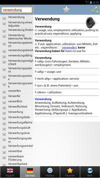 worterbuch german - Wörterbuch screenshot 11