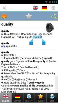 worterbuch german - Wörterbuch screenshot 2