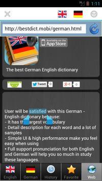 worterbuch german - Wörterbuch screenshot 4