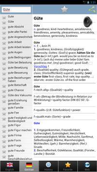 worterbuch german - Wörterbuch screenshot 9