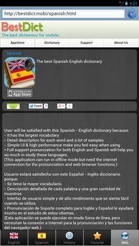 Spanish best dict screenshot 15