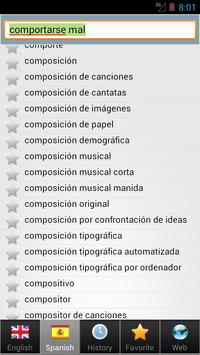 Spanish best dict screenshot 4