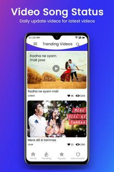Video Song Status 2019 : Latest 30 Seconds Video screenshot 3