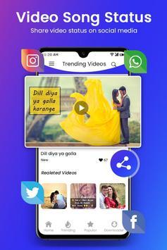 Video Song Status 2019 : Latest 30 Seconds Video screenshot 5