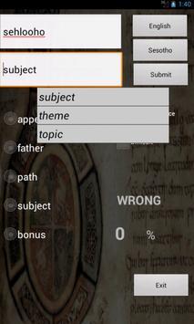 English Sesotho screenshot 5