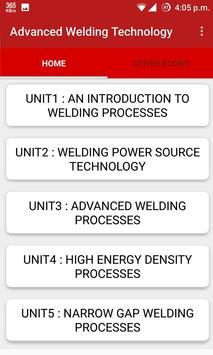 Advanced Welding Technology poster