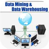 Data Mining Data Warehousing icon