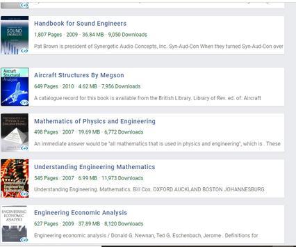 Engineering Books screenshot 1