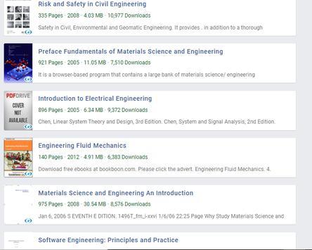 Engineering Books screenshot 2