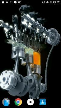 Engine V12 AMG Video Wallpaper screenshot 1