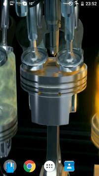 Engine V12 AMG Video Wallpaper screenshot 3