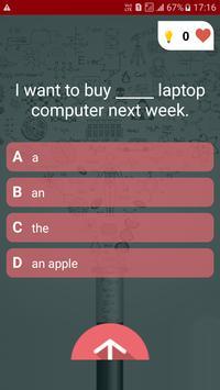 English Test Quiz screenshot 1