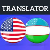 English Uzbek Translator icon