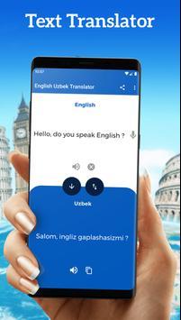 English Uzbek Translator poster