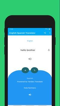 English to Spanish Translation Voice Text 截图 1