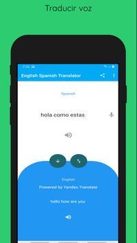 English to Spanish Translation Voice Text 截图 2