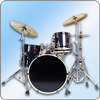 Easy Real Drums-Real Rock and jazz Drum music game-icoon