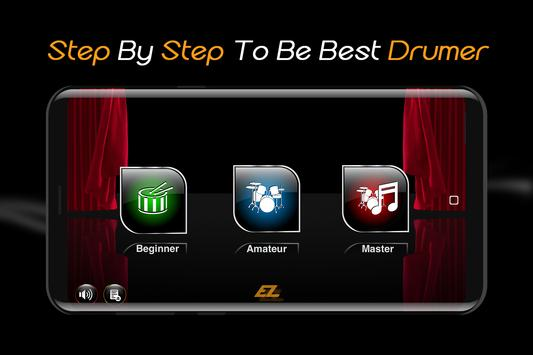 Easy Real Drums-Real Rock and jazz Drum music game Cartaz