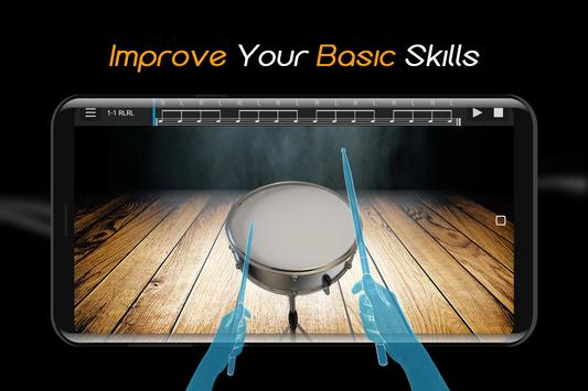 Easy Real Drums-Real Rock and jazz Drum music game imagem de tela 1