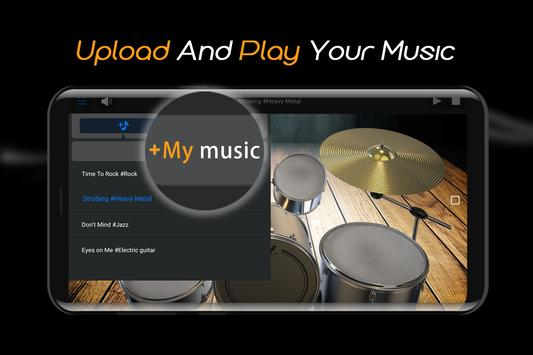 Easy Real Drums-Real Rock and jazz Drum music game imagem de tela 3