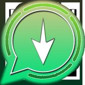 Status Download for Whatsapp, Video Status icon