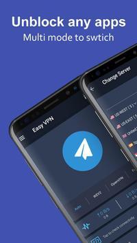Easy VPN - Free VPN proxy master, super VPN shield 海报