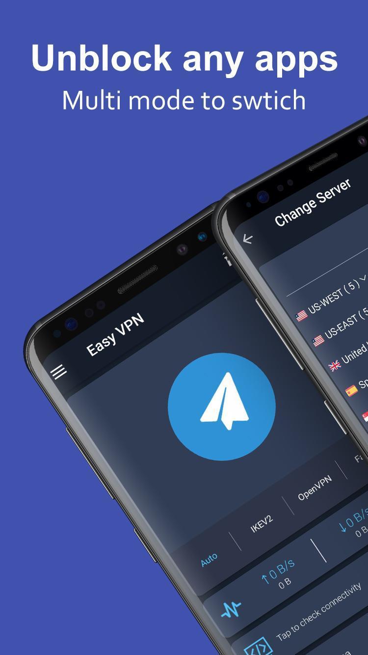 Easy VPN - Free VPN proxy, super VPN shield for Android