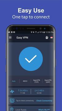 Easy VPN - Free VPN proxy master, super VPN shield 截图 2