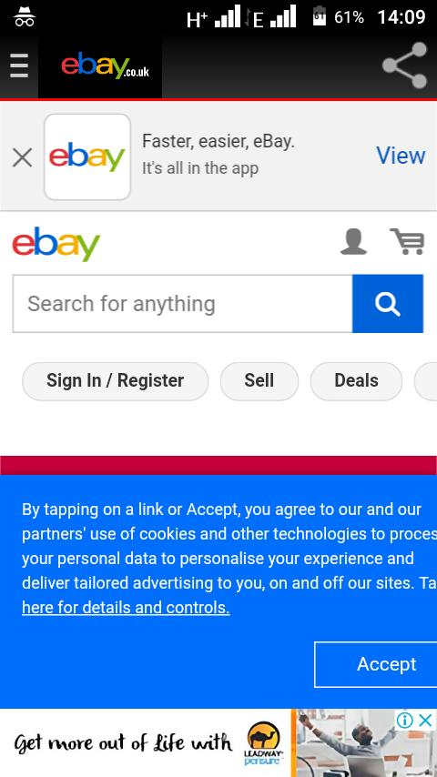 eBay UK mobile shopping app for Android - APK Download