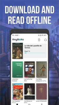 Free download library, novels &stories-AnyBooks screenshot 1