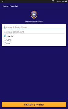 Fastmóvil screenshot 5