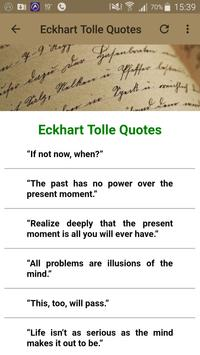 Eckhart Tolle Quotes screenshot 23