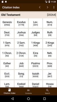 Scripture Citation Index poster