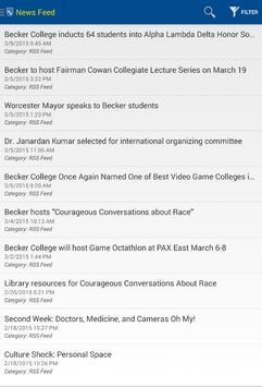Becker College Mobile screenshot 11