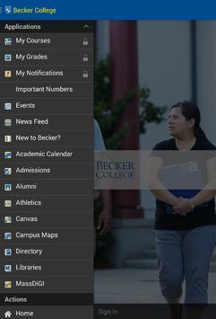 Becker College Mobile screenshot 9