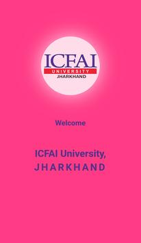 ICFAI University Jharkhand Admission 2019 poster